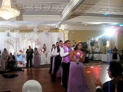 The Best WEDDING RECEPTION ENTRANCE **DANCE** to black
