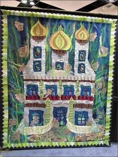 Magical Mermaid's Castle quilt