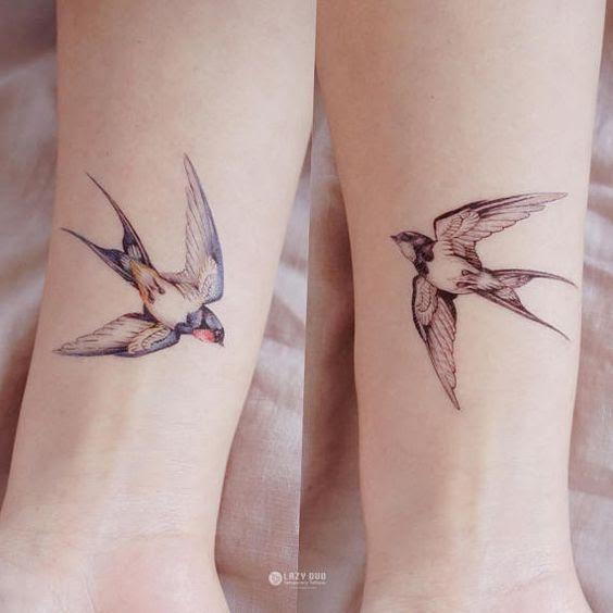 41 Mejores Tatuajes De Pájaros Y Su Significadotop 2018