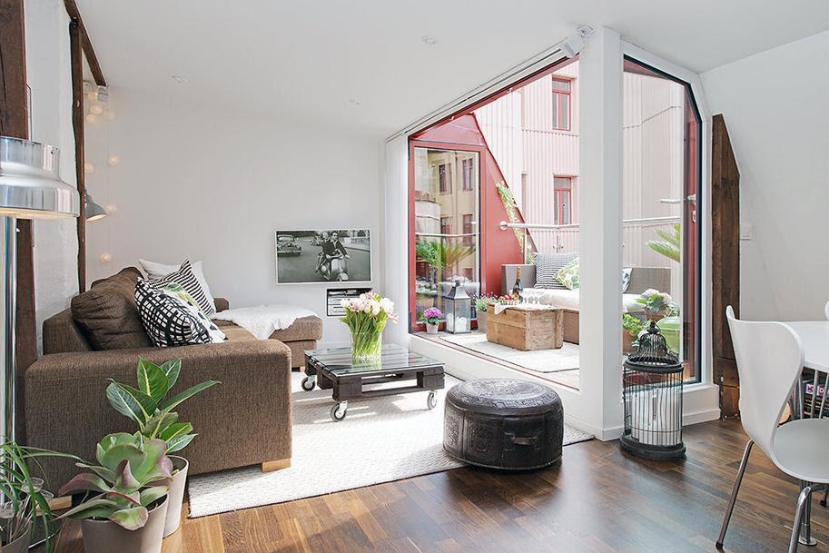 Charming Swedish Apartment - Paperblog