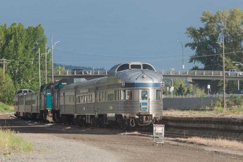 VIA Rail Skeenas in Prince George