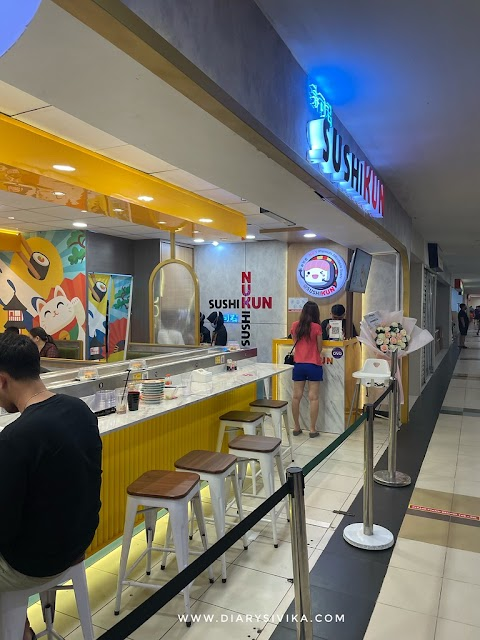 Sushikun, Sushi Murah Sepuluh Ribu di Surabaya