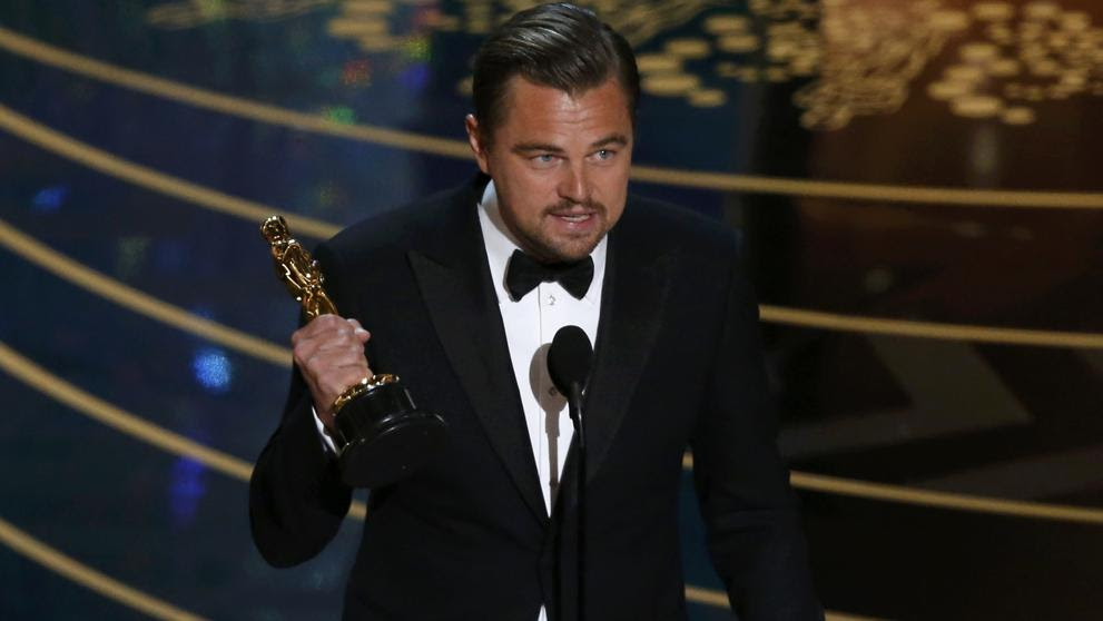 Leonardo DiCaprio consigue (por fin) su Oscar al mejor actor