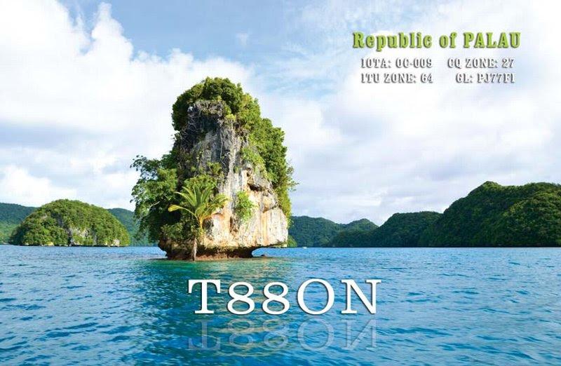 Palau T88ON QSL