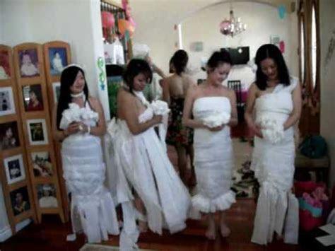 Toilet Paper the Brides Dress! Kim's Bridal Shower, 3 17
