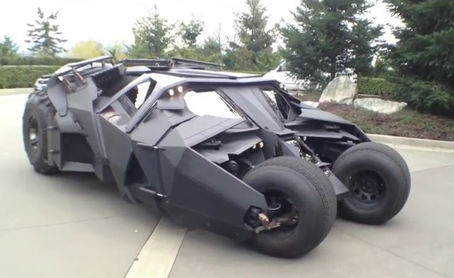 New Batmobile Raises Money for Cancer Research Video