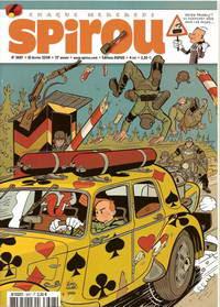 Copertina del numero di Spirou che ospita l'avventura coi nazisti
