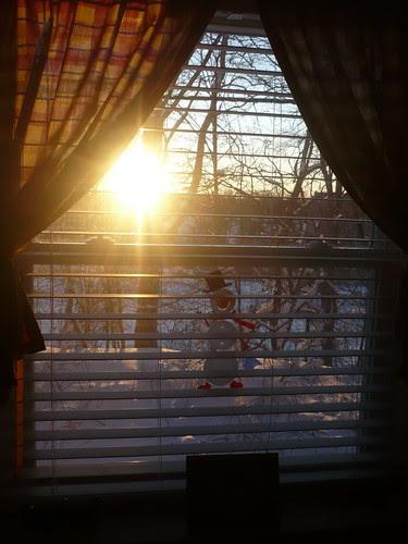 Fourteen Days of Love 07 - Sunset through my window