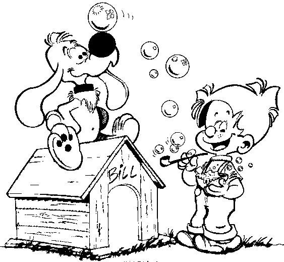 Coloriages Boule Et Bill Bonjour Les Enfants
