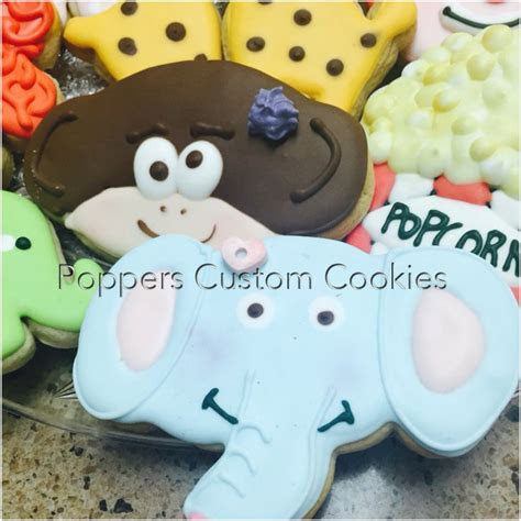 1000  images about Elephant Decorated Cookies And cake