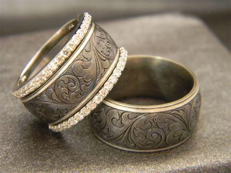 Men's Ring: 10mm Titanium Ring with JHook Custom Hand