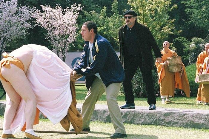 Anger Management Monk Attack