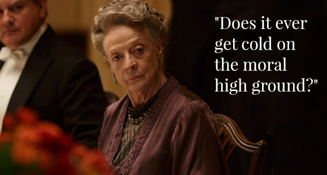 Image result for the dowager countess