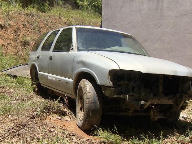 Desmanche de veículos São José dos Campos (Foto: Reprodução/TV Vanguarda)