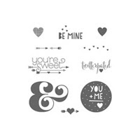 You Plus Me Wood Stamp Set