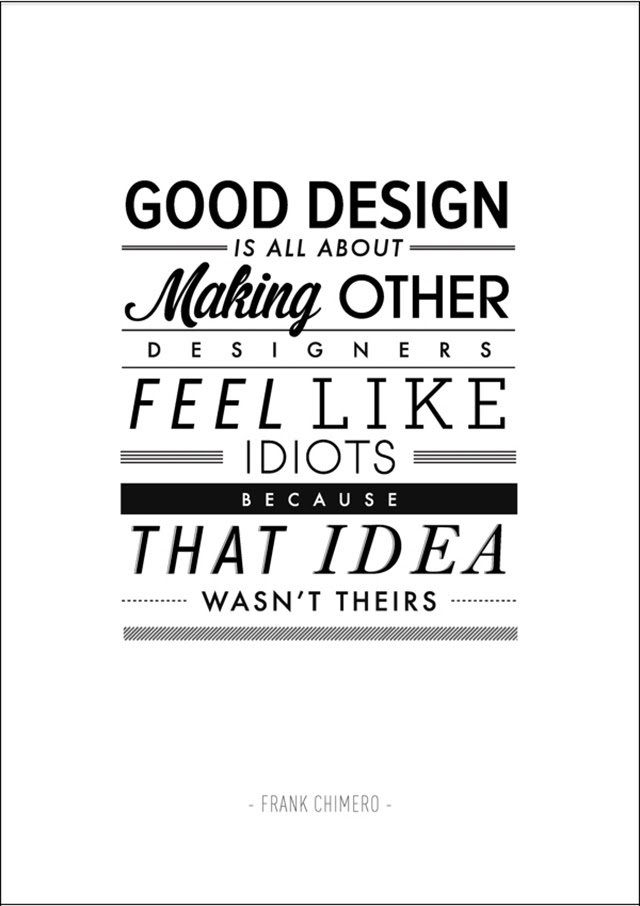 Typography Posters Of Inspirational Quotes By Ben Fearnley