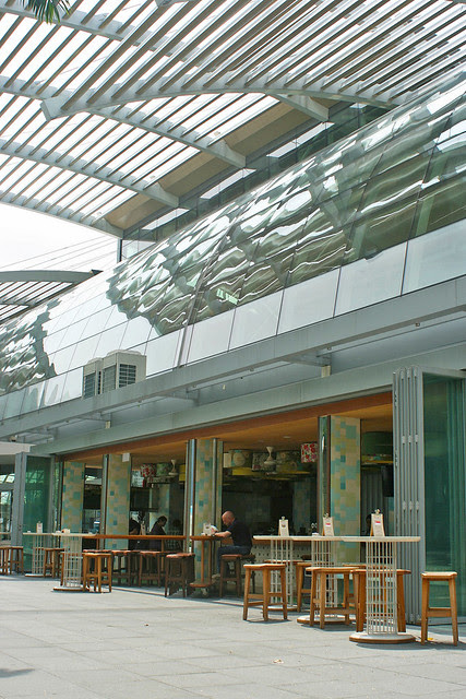 Marina Bay Sands now has waterfront dining