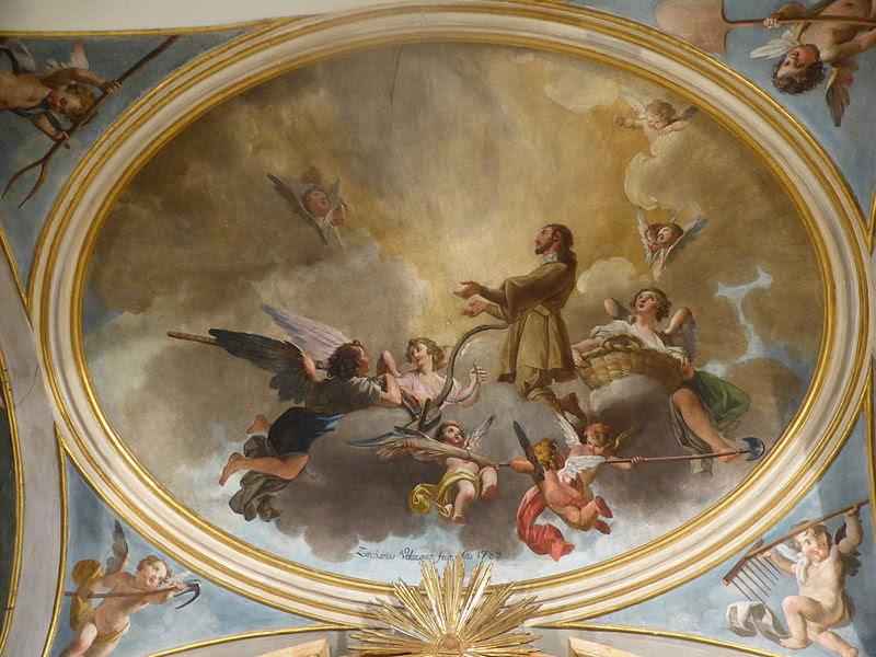 File:Museo de San Isidro, de Madrid, pintura mural del año 1789.JPG
