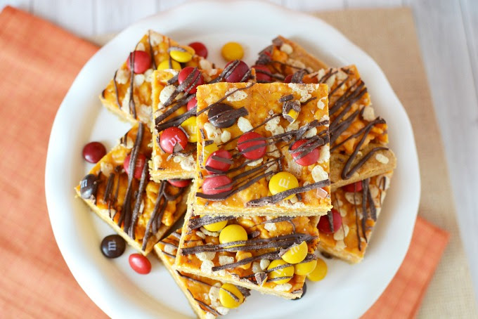 Pumpkin Spice Cookie Bars Recipe