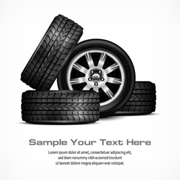 Car Tires For Nissan Altima, Shiny Car Tire Background Vector Graphics, Car Tires For Nissan Altima