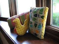 Comfort pillows, all together