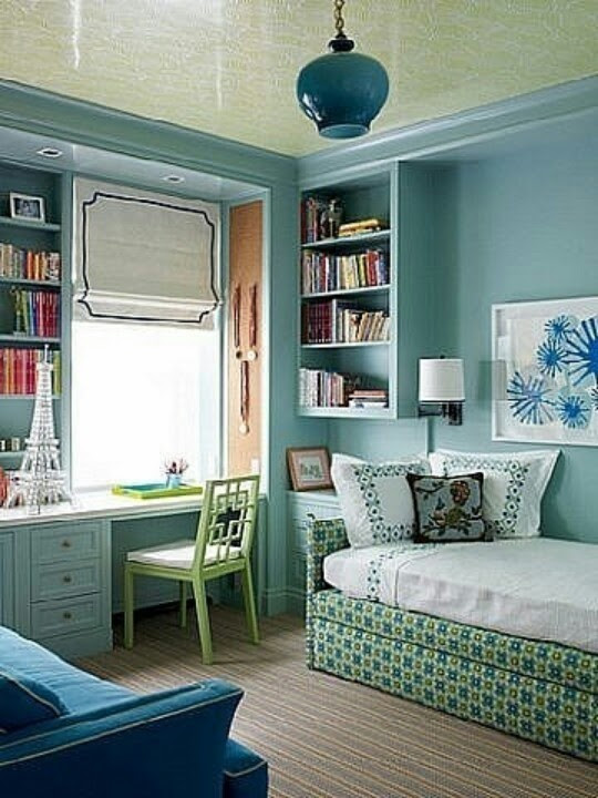 Great layout and use of space for a guest room