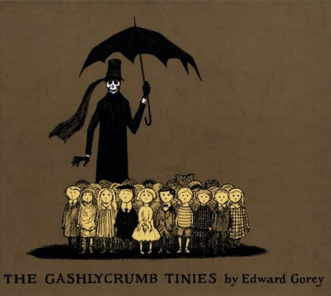 'The gashlycrumb tinies'