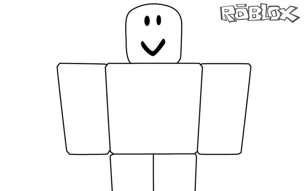 Coloring Roblox Print   Free Roblox Online Games