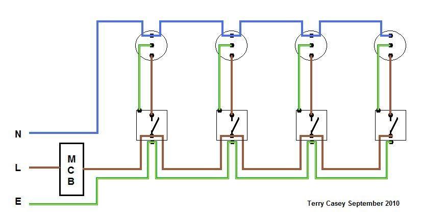 Electric Light Wiring Diagram Uk