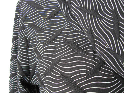 Black renfew close up fabric