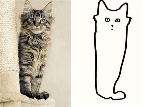 minimal cat art   subreddit  people share