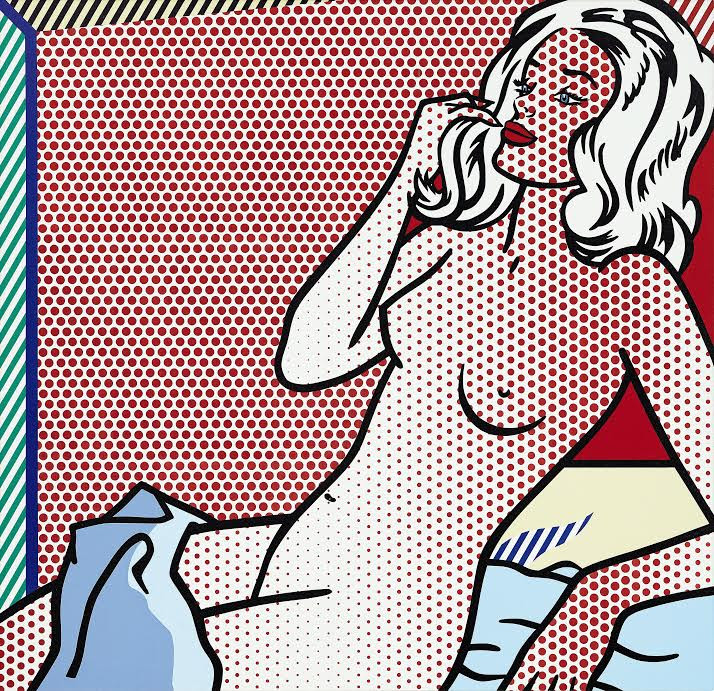 Roy Lichtenstein, Nude Sunbathing (20m USD)
