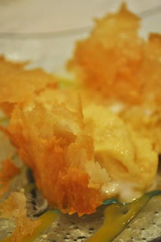 fried durian innards