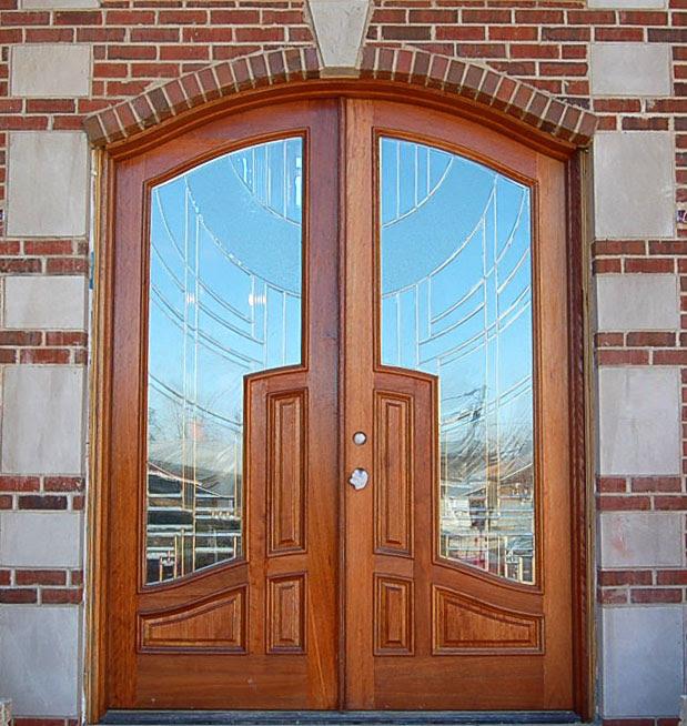 glass door designs with wooden frame  | 505 x 505