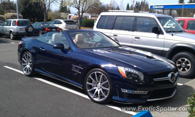 Mercedes SL 65 AMG spotted in Santa Rosa, California on 02 ...