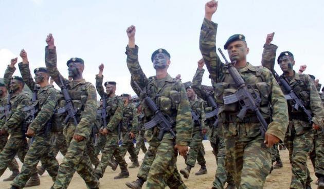 Τα λαμόγια της τρόικα μας ζητούν να καταργήσουμε τον Στρατό !