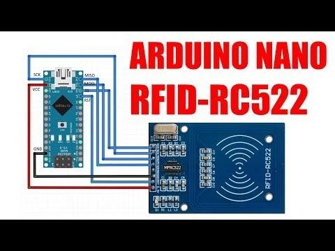 Arduino Nano + RFID-RC522 - Arduino Tutorial