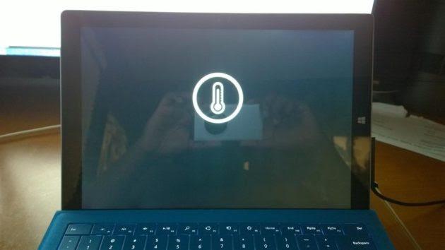 Surface 3 Pro con Core i7 sufre sobrecalentamientos