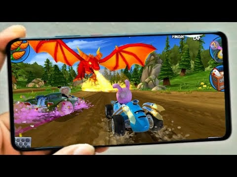 Beach Buggy Rancing gameplay (android)