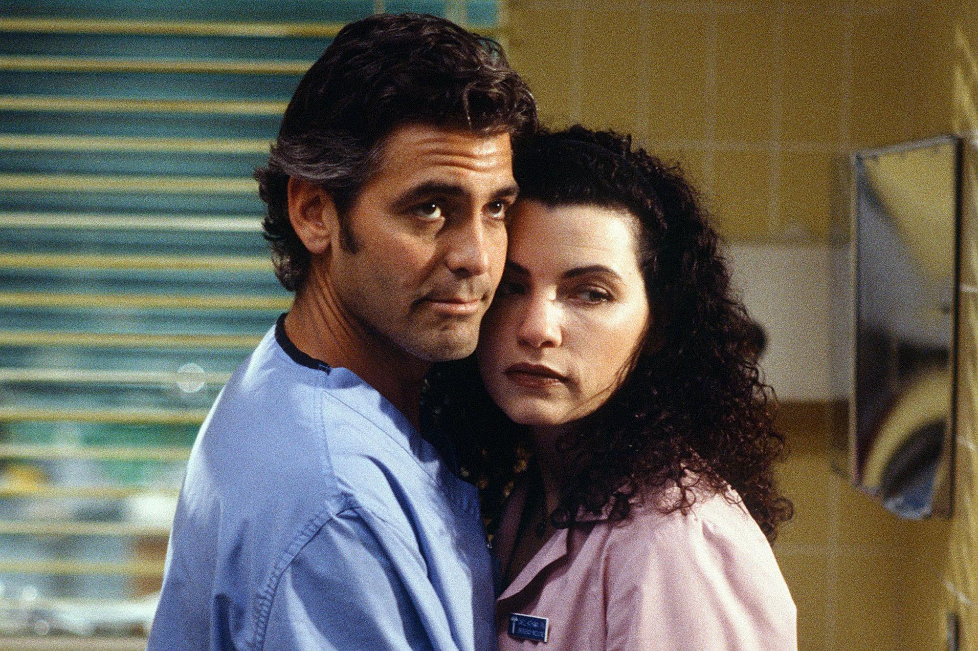 George Clooney, Julianna Margulies hold mini ER reunion in New York   EW.com