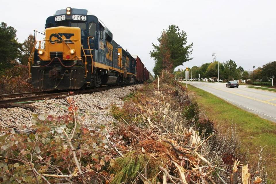 CSX has announced a massive project in Johnston County.