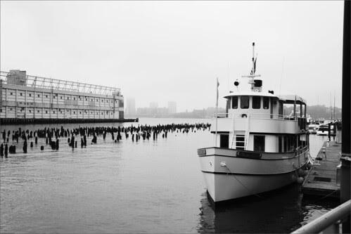 West Side piers
