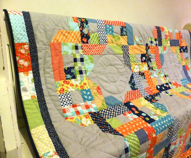 Over and Under Quilt Class sample 2