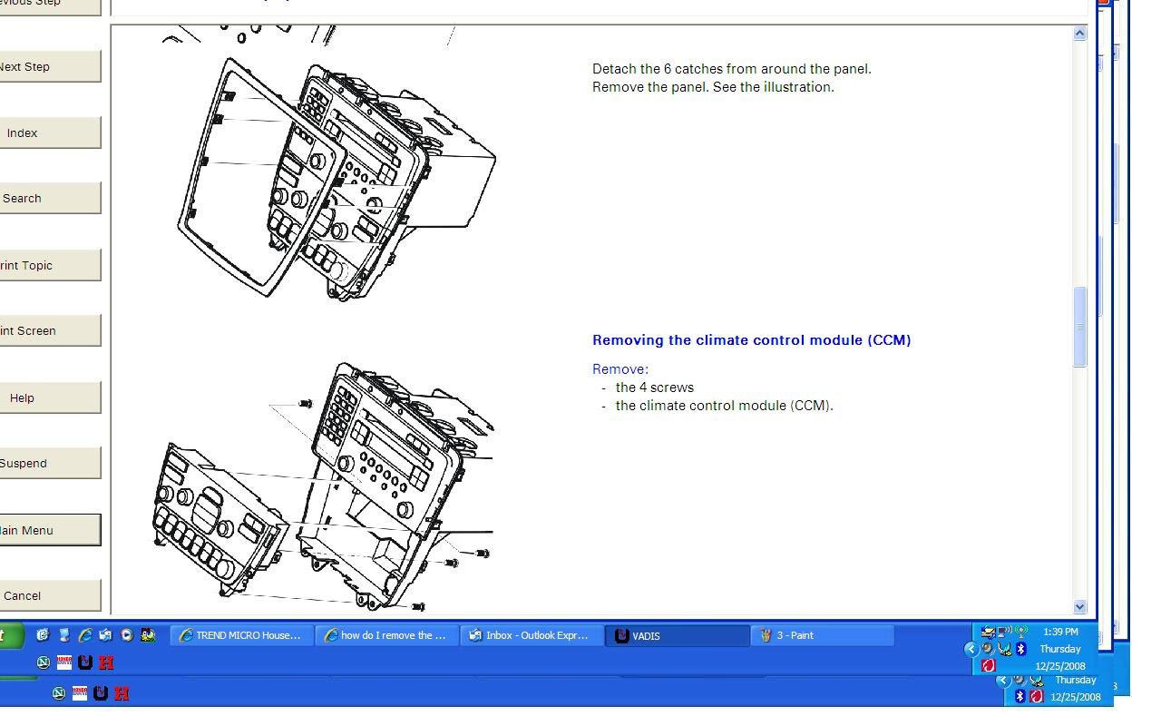 Electrical Wiring Diagram For 1996 Volvo 850 - Wiring ...