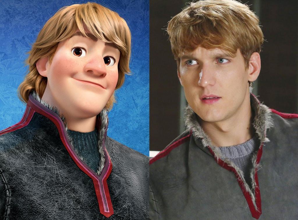 Kristoff, Frozen, Animated Disney vs. Live Action Disney
