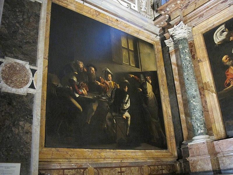 File:San luigi dei francesi, interno, cappella contarelli 01.JPG