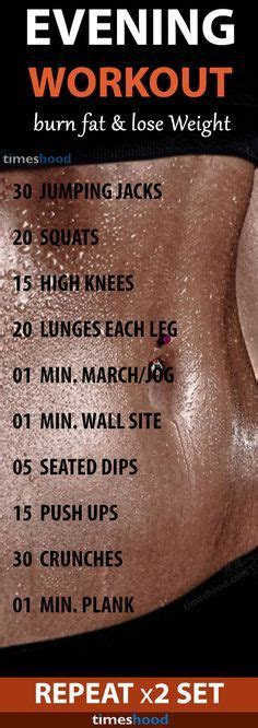 printable  day full body fitness challenge abs