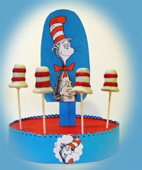 Dr Seuss  Reusable Cake Pop   Cupcakes or by ScrapPantry