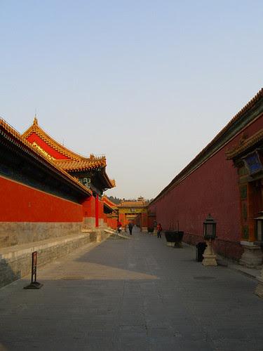 Inner Corridors - Forbidden City