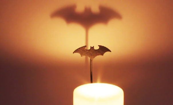 Batman Shadow Candle Holder